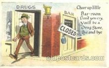 drk001007 - Prohibition Drinking, Postcard Post Card