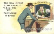 drk001009 - Prohibition Drinking, Postcard Post Card