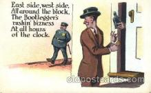 drk001012 - Prohibition Drinking, Postcard Post Card