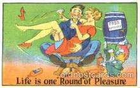 drk001019 - Drinking, Postcard Post Card