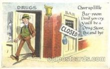 drk001021 - Prohibition Drinking, Postcard Post Card