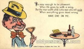 drk001030 - Drinking, Postcard Post Card