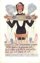 drk001034 - Prohibition Drinking, Postcard Post Card