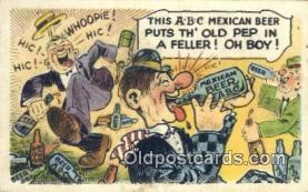 drk001059 - Mexican Beer  Postcard Post Cards Old Vintage Antique