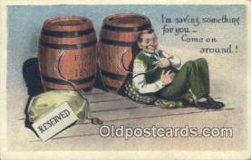 drk001060 - Saving Something for you  Postcard Post Cards Old Vintage Antique