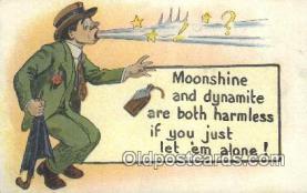 drk001061 - Moonshine & Dynamite  Postcard Post Cards Old Vintage Antique