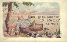 drk001065 - Extra Dry  Postcard Post Cards Old Vintage Antique