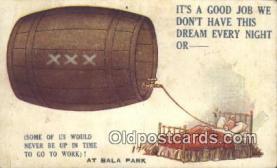 drk001083 - Bala Park Postcard Post Cards Old Vintage Antique