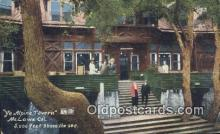 drk001147 - Ye Alpine Tavern Mt. Lowe, CA, USA Postcard Post Cards Old Vintage Antique