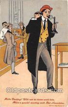 drk001183 - Hello Darling Bar Associates Postcards Post Cards Old Vintage Antique