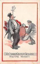 drk001185 - Ragtime Nexht  Postcards Post Cards Old Vintage Antique