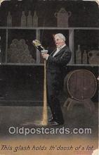 drk001187 - Glash Holds  Postcards Post Cards Old Vintage Antique
