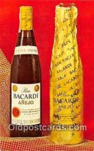 drk001217 - Bacardi Anejo  Postcards Post Cards Old Vintage Antique