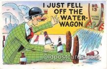 drk001230 - Water Wagon  Postcards Post Cards Old Vintage Antique