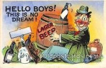 drk001231 - Lager Beer  Postcards Post Cards Old Vintage Antique