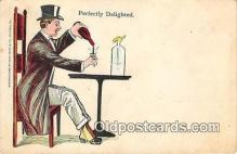 drk001238 - Perfectly Delighted  Postcards Post Cards Old Vintage Antique