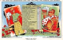 drk001240 - Savers Easy Correspondence Card  Postcards Post Cards Old Vintage Antique