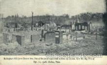 dst001006 - After the big fire, Chelsea, Mass, Massachusetts, USADisaster Disasters, Postcard Post Card