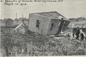 dst001020 - Tiornado, NY, New YorkDisaster Disasters, Postcard Post Card