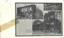 dst001034 - Ruins of State Normal School Albany, NY, USA Postcard Post Cards Old Vintage Antique