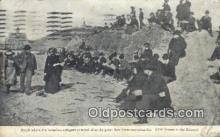 dst001035 - Beach where the homeless refugees camped, San Francisco Calamity San Francisco, CA, USA Postcard Post Cards Old Vintage Antique