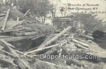 dst001038 - Results of Tornado Sept 15, 1912 Syracuse, NY, USA Postcard Post Cards Old Vintage Antique