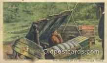 dst001048 - Shelter of Earthquake Victim  Postcard Post Cards Old Vintage Antique