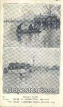 Rescue Pary, Great Hartford Conn USA Flood, March 1936