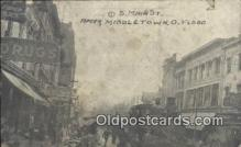 dst001060 - S Main St, Flood Middletown, Ohio, OH Flood USA Postcard Post Cards Old Vintage Antique