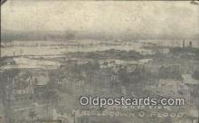 dst001062 - Flood Middletown, Ohio, OH Flood USA Postcard Post Cards Old Vintage Antique