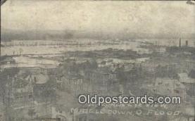 dst001062 - Flood Middletown, Ohio, OH Flood USA Postcard Post Cards Old Vintage Antique