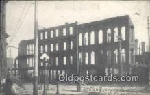 dst001073 - Third & Jefferson, Flood Dayton, Ohio, OH, Flood USA Postcard Post Cards Old Vintage Antique