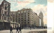 dtr001020 - Ruins of Palace and Grand Hotels, April 18th, 1906, San Francisco, California, CA, USA Disaster, Wrecks, Postcard Post Card Old Vintage Antique