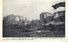 dtr001024 - M & O shop at Murphysboro, Illinois, Il. USA, Mar 18, 1925 Disaster, Wrecks, Postcard Post Card Old Vintage Antique