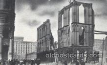 dtr001027 - Masonic Temple, Geary Street, San Francisco, California, USA Disaster, Wrecks, Postcard Post Card Old Vintage Antique