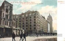 dtr001036 - Ruins of the Palace and Grand Hotels Disaster, Wrecks, Postcard Post Card Old Vintage Antique