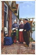 dut001002 - Volendam Dutch Children Postcard Post Card