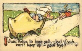 dut001023 - Dutch Children Old Vintage Antique Postcard Post Card