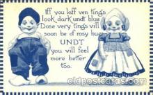 dut001036 - Artist Bernhardt Wall, Dutch Children Old Vintage Antique Postcard Post Card