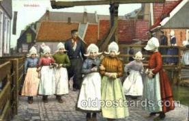 dut001039 - Dutch Children Old Vintage Antique Postcard Post Card