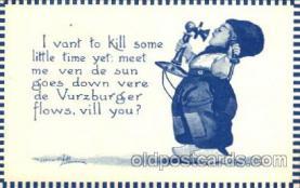 dut001050 - Artist Bernhardt Wall, Dutch Children Old Vintage Antique Postcard Post Card