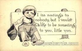 dut001056 - Artist Bernhardt Wall, Dutch Children Old Vintage Antique Postcard Post Card