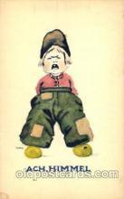 dut001087 - Artist Bernhardt Wall, Dutch Children Old Vintage Antique Postcard Post Card