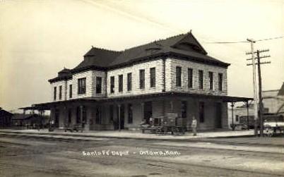 Image result for ottawa kansas train station