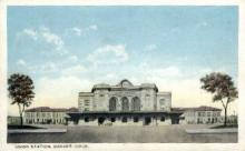 dep-CO004 - Untion Station, Denver, CO, Colorado, USA Railroad Train Depot Postcard Post Card