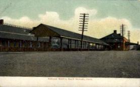 dep-CT021 - Railroad Station, South Norwalk, Connecticut CT, USA Railroad Train Depot Postcard Post Card