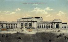 dep-DC001 - Union Station, Washington DC, DC, USA Railroad Train Depot Postcard Post Card
