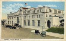 dep-GA007 - Terminal Station, Macon, Georgia, GA, USA, Railroad Train Depot Postcard Post Card