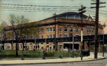 dep-MA045 - Sullivan Square Terminal, Charlestown, Massachusetts, MA, USA,  Railroad Train Depot Postcard Post Card