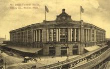 dep-MA068 - South Terminal Station, Boston, Massachusetts, MA, USA,  Railroad Train Depot Postcard Post Card